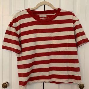 "Madewell Boxy ""Where's Waldo"" Tee"